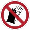 Dragen van handschoenen verboden