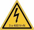 elektriciteit - 3 x 400 V+N